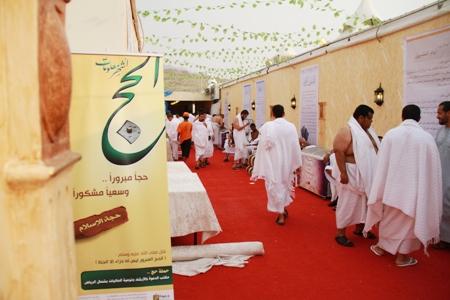 انطلاق قافلة مكتب الدعوة في شمال الرياض