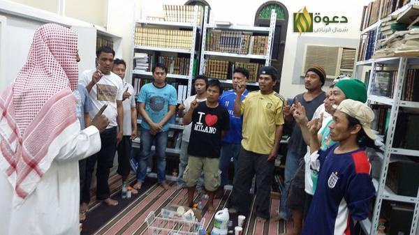 239 رجلا وامرأة من تسع دول يعتنقون الإسلام