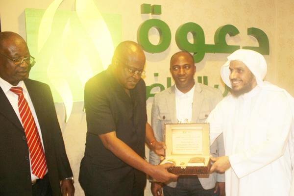 إسلام حرم سعادة القنصل العام لجمهورية سيراليون في المملكة