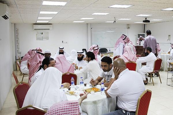استعراض إنجازات رمضان في حفل معايدة منسوبي المكتب