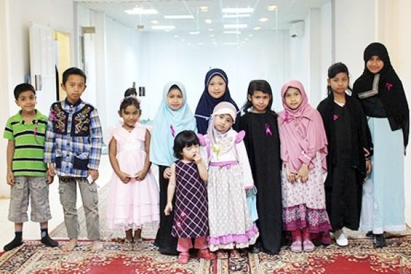 حفل تكريم الفائزات والمشاركات في مسابقة القرآن الأولى لغير الناطقات بالعربية