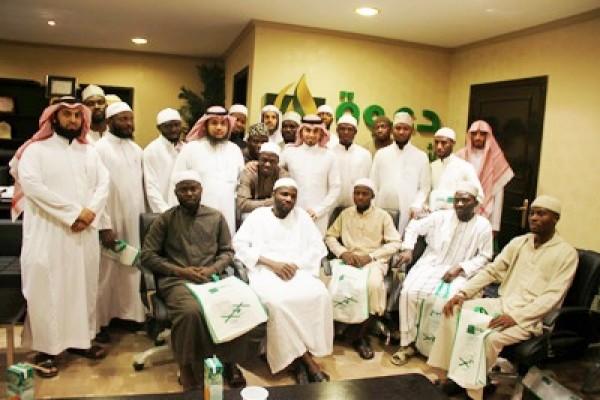 استضافة وفد طلابي نيجيري بالتنسيق مع الندوة العالمية للشباب الإسلامي