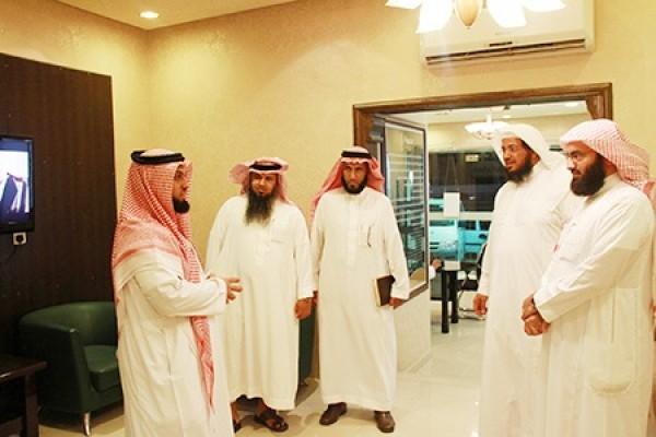 استقبال وفد المكتب التعاوني للدعوة والإرشاد في محافظة بدر