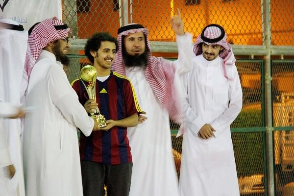 """اختتام فعاليات """"دوري سعداء"""" لشباب أحياء شمال الرياض"""