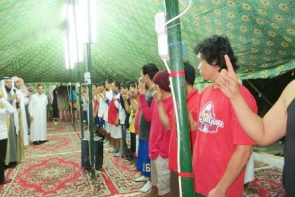 """إسلام 35 فلبينيا في ملتقى """"حجة وهداية"""" خلال شهر محرم الماضي"""