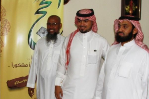 طلاب الجامعة الإسلامية المشاركون في حملة أوقاف الراحجي يشكرون المكتب